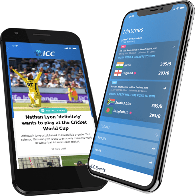Live Cricket Scores & News International Cricket Council